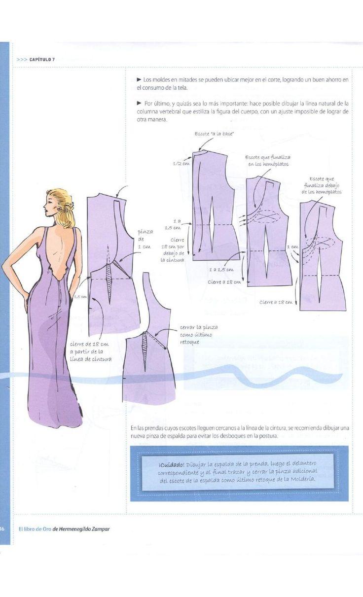 Mejores 128 imágenes de Costura en Pinterest | Consejos para coser ...