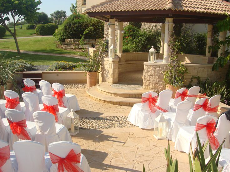 Cyprus Wedding Chairs And Bows