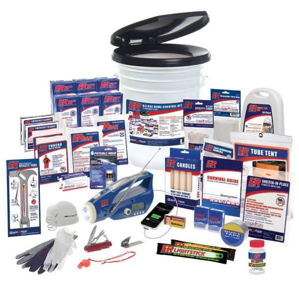 Emergency Survival Kits - 2 Person Deluxe Survival Kit $155.00