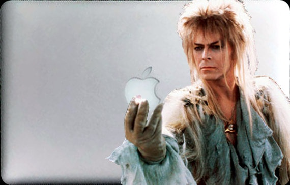 Yes.  I absolutely bought a David Bowie from Labyrinth sticker for my MacBook.