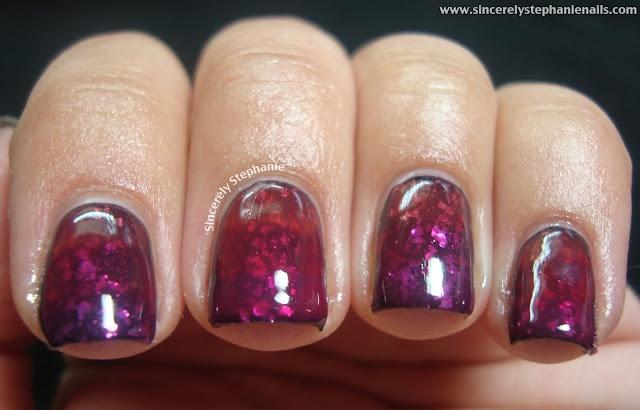 jelly sandwich gradient nail art
