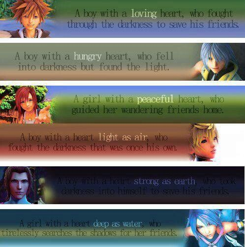 Beautiful things from that wonderful game, Kingdom Hearts <3