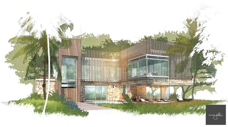 Diseños en SketchUp, renderizado en Vray y Photoshop