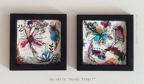 Mundo Frágil by Patricia Sodré, via Behance
