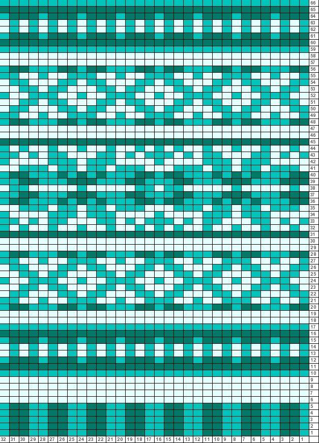 Tricksy Knitter Charts: Nikki's Chart Variation