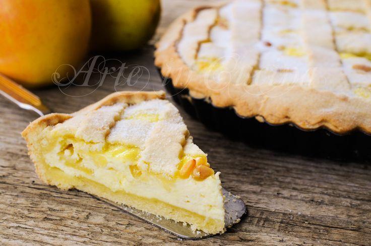 Crostata morbida mele e ricotta ricetta facile, dolce da merenda, colazione, torta di pasta frolla con mele, ricetta facile, veloce, dolce alle mele, dolce con frutta