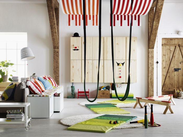 il suffit d un peu de cr ativit pour avoir encore plus d espace pour jouer enfants. Black Bedroom Furniture Sets. Home Design Ideas