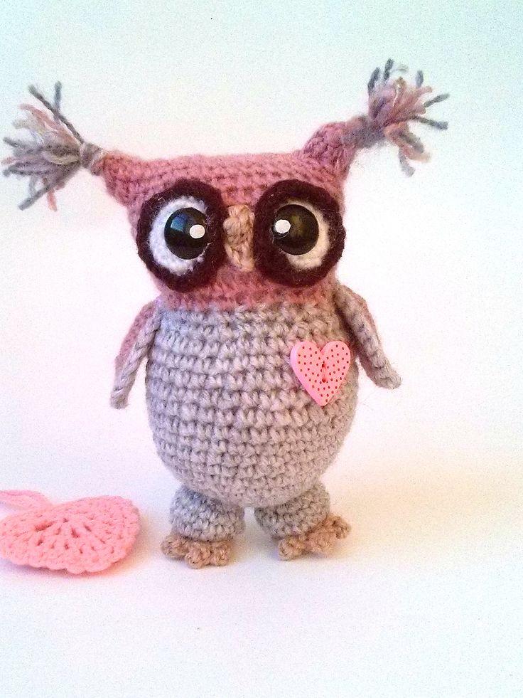Excited to share the latest addition to my #etsy shop: Crochet owl Plush owl Amigurumi animals Stuffed owl Nursery decor Newborn gift Knitted owl Stuffed animal Owl toy Cute Owl http://etsy.me/2DgmDbC #toys #brown #beige #crochetowl #plushowl #amigurumianimals #stuffed