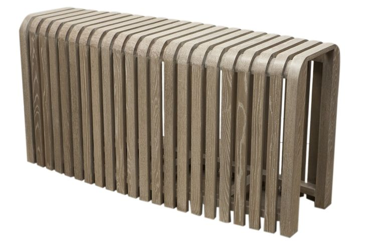 Buy Oyster Bay Slatted Console Table by Harbinger - Made-to-Order designer Furniture from Dering Hall's collection of Industrial Mid-Century / Modern Traditional Console Tables.