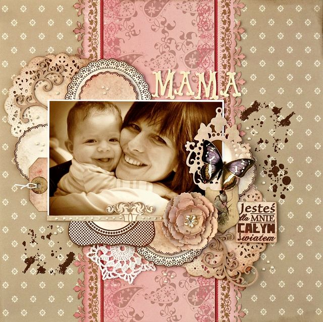 Mother - Scrapbook.com -- Simply. Gorgeous. Can't wait to have my own baby.