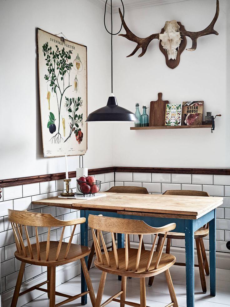 Dit Scandinavische huis haalt het groen naar binnen - Roomed