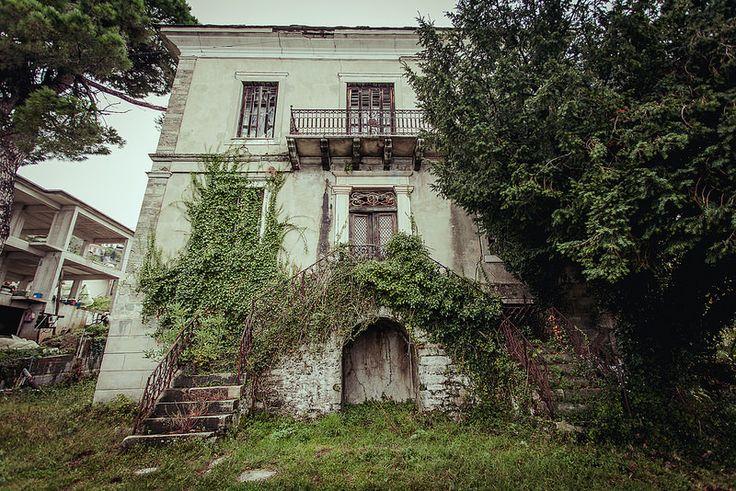 Abandoned house, Pelion
