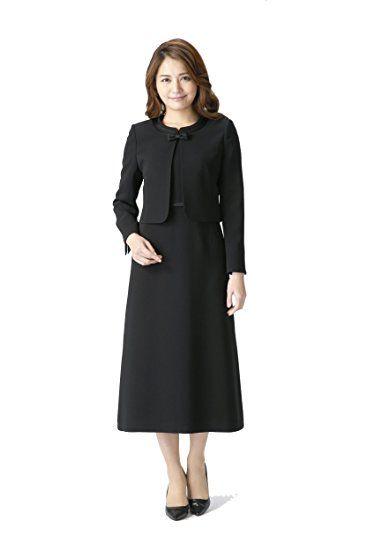 (マーガレット)marguerite m456 ロング丈ブラックフォーマル レディース アンサンブル 礼服