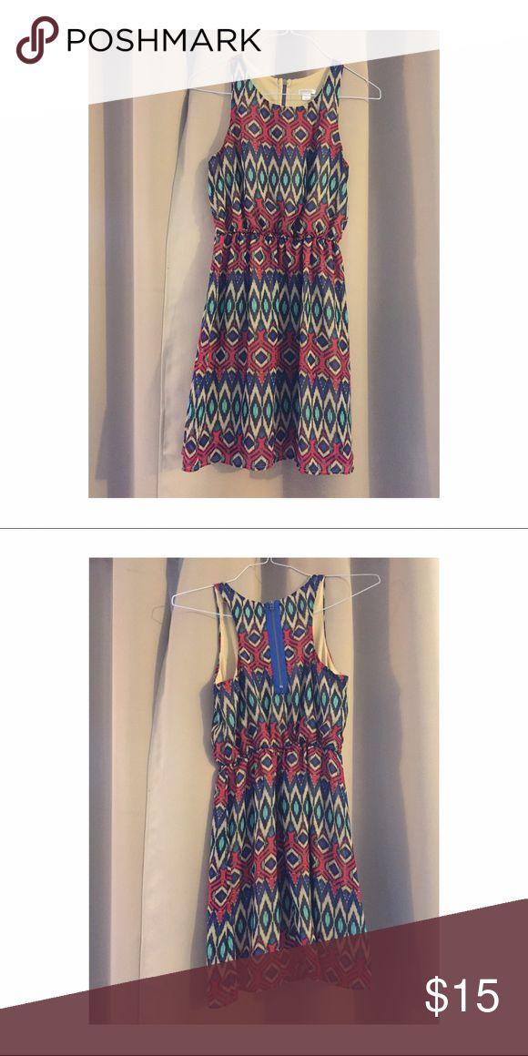 Tribal pattern mini dress Tribal pattern mini dress - xhilaration - size S Xhilaration Dresses Mini