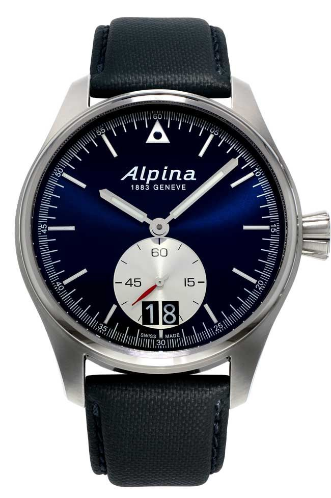 alpina startimer pilot big date professional pilot watch swiss made startimer pilot. Black Bedroom Furniture Sets. Home Design Ideas