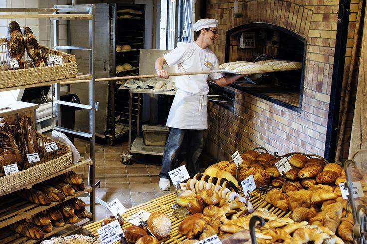 La guerre du pain. La boulangerie Le Panetier de la Pallanterie est l'un des points de vente du groupe BISA. © Guillaume Mégevand