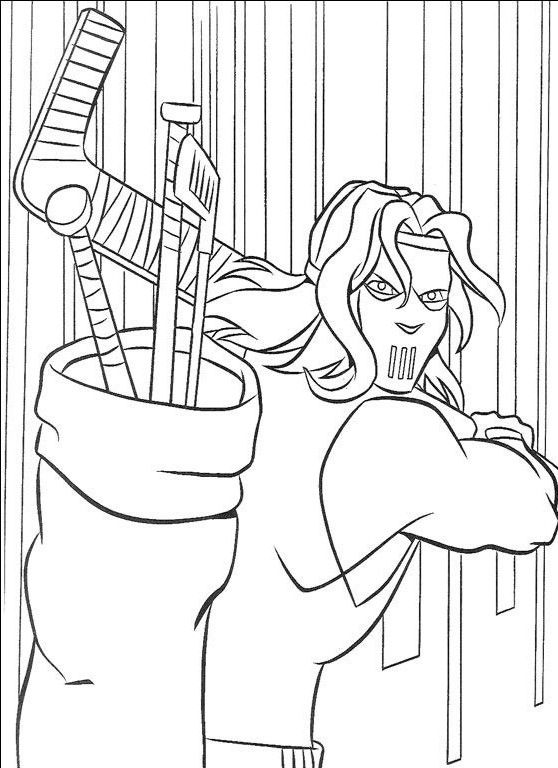 coloring pages ninjas cartoon - photo#8