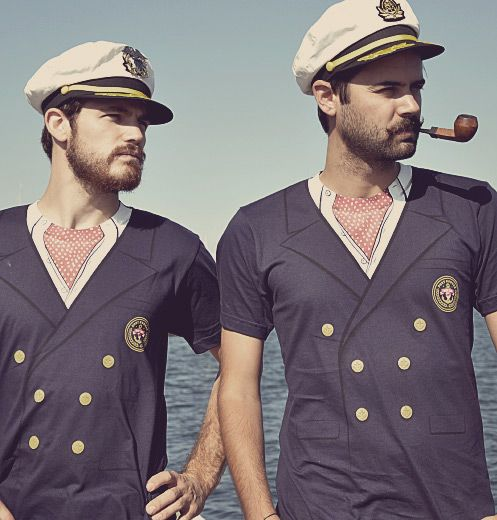 Port Noonan Yacht Club shirt ~ every man should have one.
