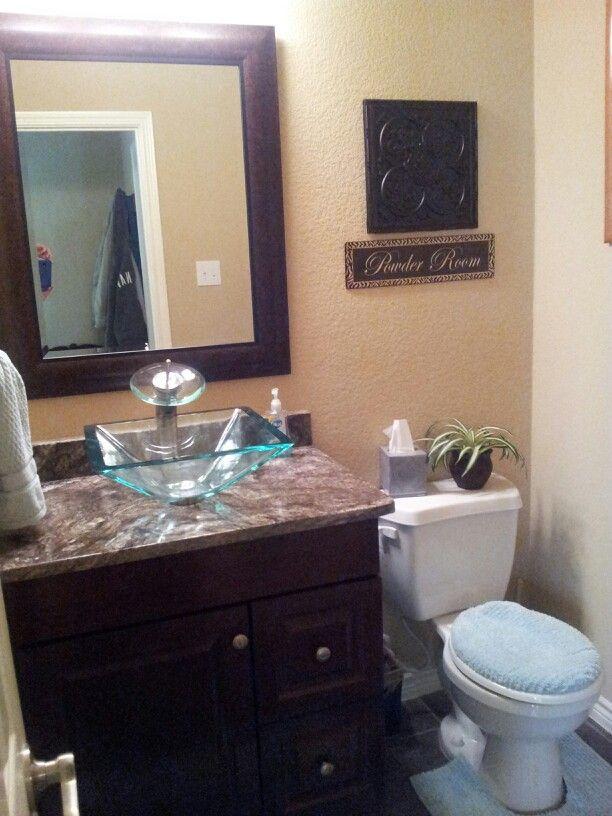 Kayrus granite and glass vessel sink. | JFE Kitchen & Bath