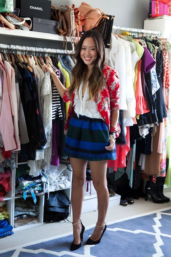 Tour Style Blogger Aimee Song's Apartment | Closet Goals