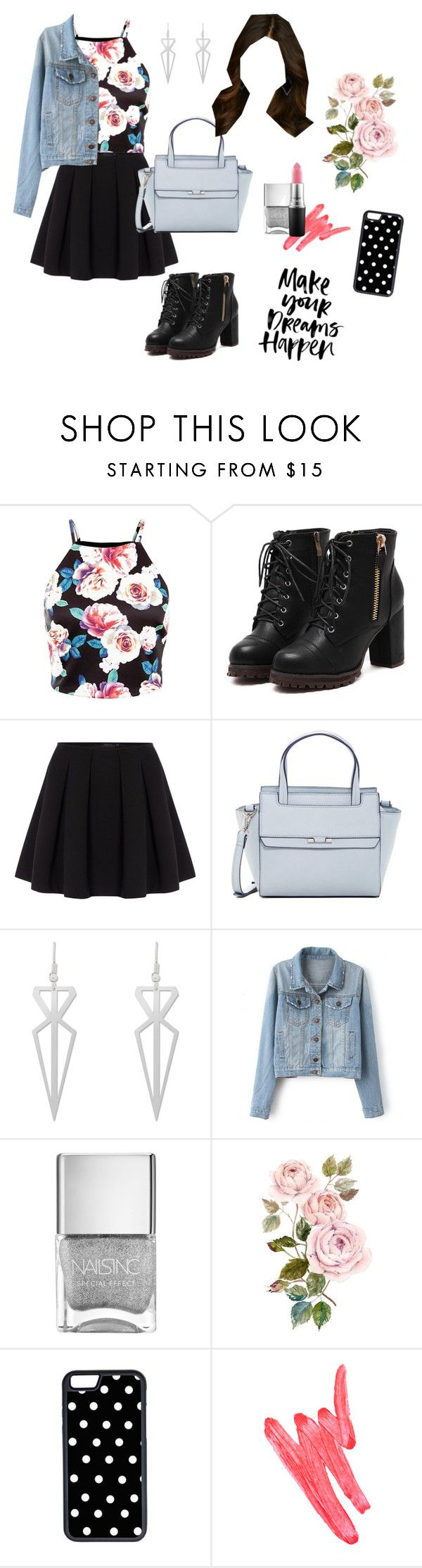 """""""Aria Montgomery Inspired Outfit - PLL"""" by pll-blog on Polyvore featuring Polo Ralph Lauren, Danielle Nicole, CellPowerCases, Ilia, women's clothing, women's fashion, women, female, woman and misses"""