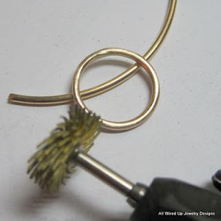 how to solder gold fill wire
