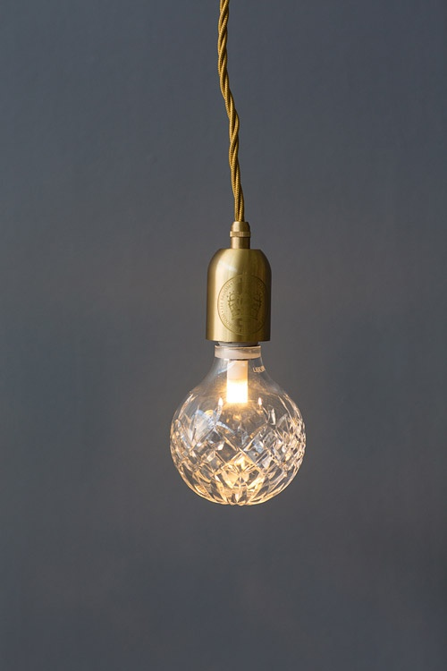 Lee Broom Crystal bulb light, part of stylist Mr Jason Grant's guest collection for Temple & Webster.  Image - Maya Vidulich.