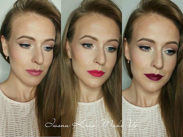 1 shiny summer Face , 3 different lipstick 👄💋👄 1. @rimmellondonpl Kate Moss 103 2. @sephora 12 3. @sephora Rouge R23 crush  #smashboxchallengebykatosu #katosu #smashbox  Which one is your favourite?? 😊