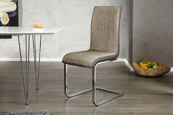 Jedálenské stoličky - moderné : Stolička City cappucino