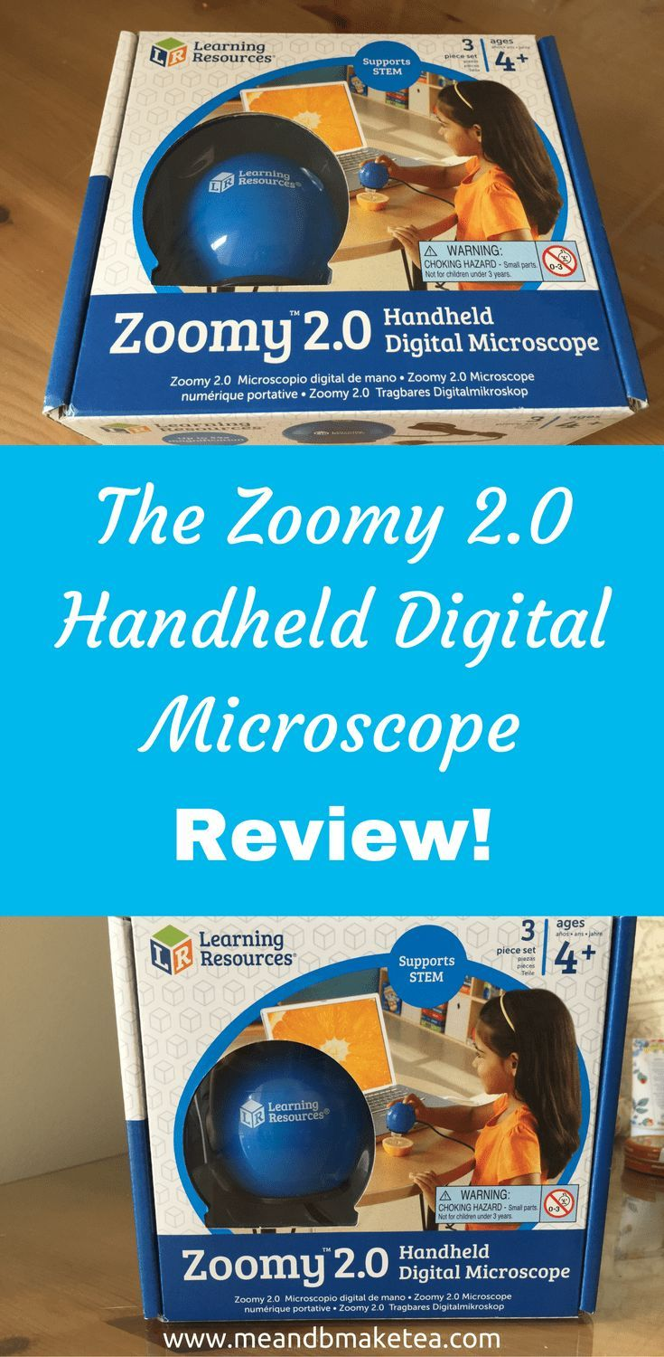 Today on the blog we've been playing around with theZoomy 2.0 Handheld Digital Microscopefrom Learning Resources. It's one of their top sellers and is sure to be a hit with any science-mad kids this Christmas. It is super simple to use and suitable from 4 years upwards.