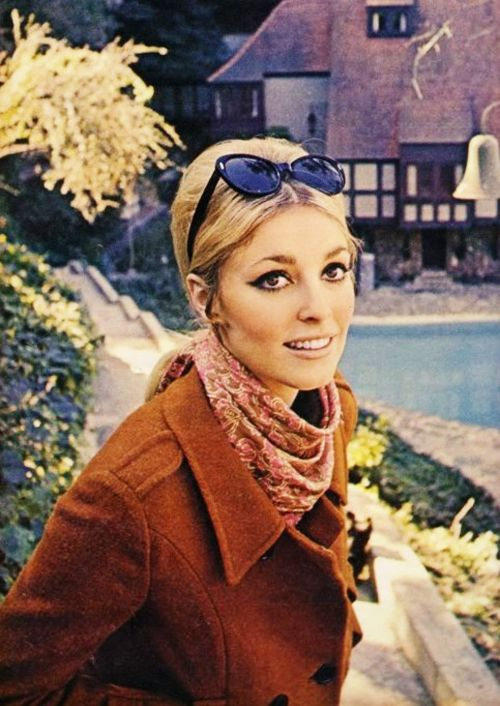 Sharon Tate at her friend, Jay Sebring's house