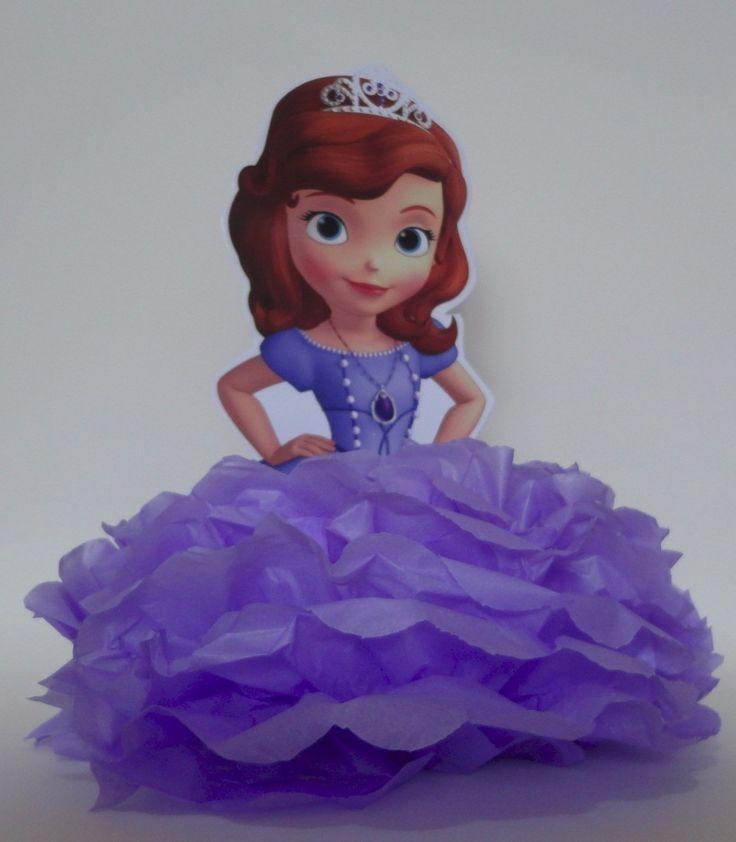Como hacer piñatas de Princesa Sofia, para que la fiesta de tu niña este completamente armada y todos los invitados disfruten al máximo.