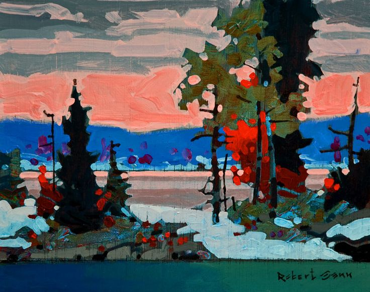 October 20, Lake of the Woods, by Robert Genn