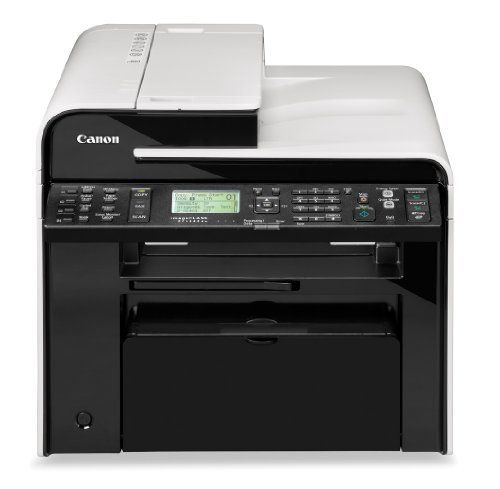 Canon Laser imageCLASS MF4880dw Wireless Monochrome Printer with Scanner, Copier and Fax by Canon. $179.00. From the Manufacturer                 Canon MF4880dw - Black and White Laser Multifunction Printer     User-friendly 5-line LCD and tiltable control panel for easy navigation. (view larger)      With the single touch of the quiet mode button you can reduce the operational noise of the machine. (view larger)      Simple Solution Keys make scanning effortless and gi...