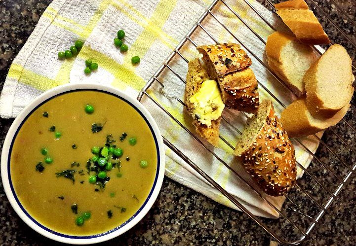 pea and ham soup. #Winter #Soup