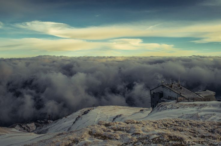 Alpine sea - Photo taken near Furnica Peak (elev. 2103m), located in the Bucegi Mountains, Romania.