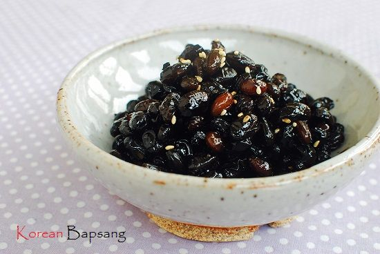 Kongjang (Soy Braised Soybeans) | Korean Bapsang