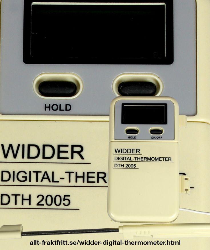 Widder digital termometer - Digital termometer för vinberedning -50 - +300 C. Används för att mäta temperaturen i vinjäsning, öljäsning, andra alkoholjäsning, frukt mäsken sin speciella, mäsk mm.