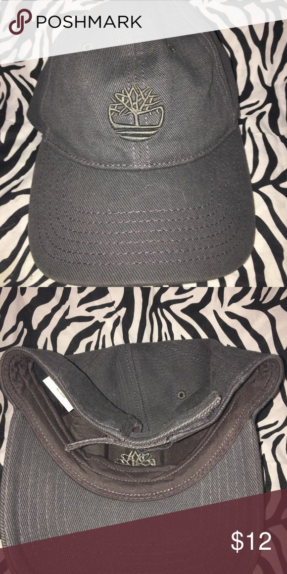 Gray Timberland Hat Perfect condition. Like a dark charcoal gray.  Feel free to make an offer Timberland Accessories Hats