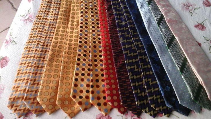 cravatta num. 10 pura seta rifinita a mano/  num. 10 pure silk hand-finished tie