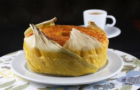Bolo de milho com coco na palha  (Foto: Divulgação)