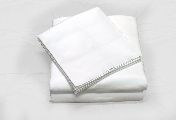 Callista Hotel Collection Luxury Bedding-Bestseller- Super Sale 100% Cotton 400 Thread Count Sheet Set Queen White
