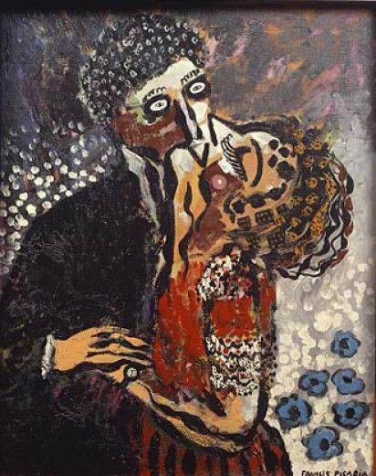 #SanremARTE Francis #Picabia, Le baiser vs Un bacio crudele, #GiulianoPalma (2014)