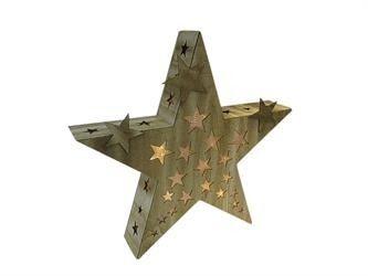 Fancy  Weihnachtsdekoration Dameco dameco Dekorative Beleuchtung Braun Batterie Akku LED AA