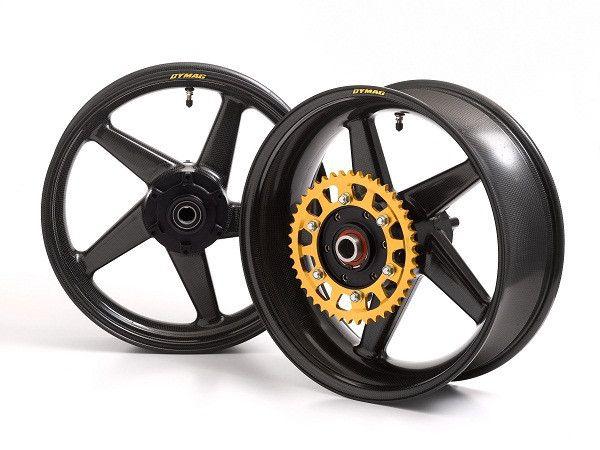 Dymag Carbon Race CA5 Carbon Fiber Wheel Set - Yamaha YZF-R1 2015 +