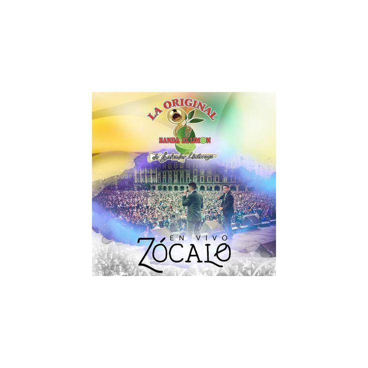 Original Banda El Limon & Salvador Lizarraga - En Vivo Zocalo (CD)