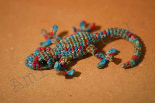 Amigurumi Gecko Pattern : 484 best images about Virka - djur on Pinterest Free ...