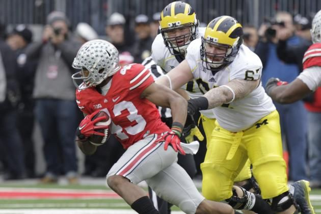 Big Ten Football: Ranking the Conference's Best Rivalries Michigan and Ohio State