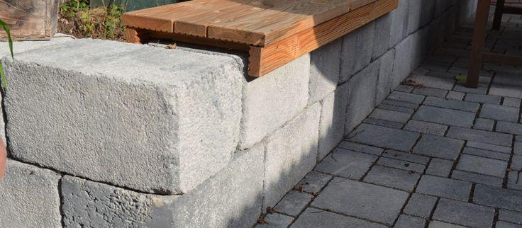 Bildergebnis für mauersteine beton sitz