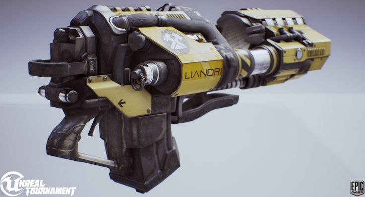 ArtStation - Unreal Tournament Flak Cannon Materials, Josh Marlow